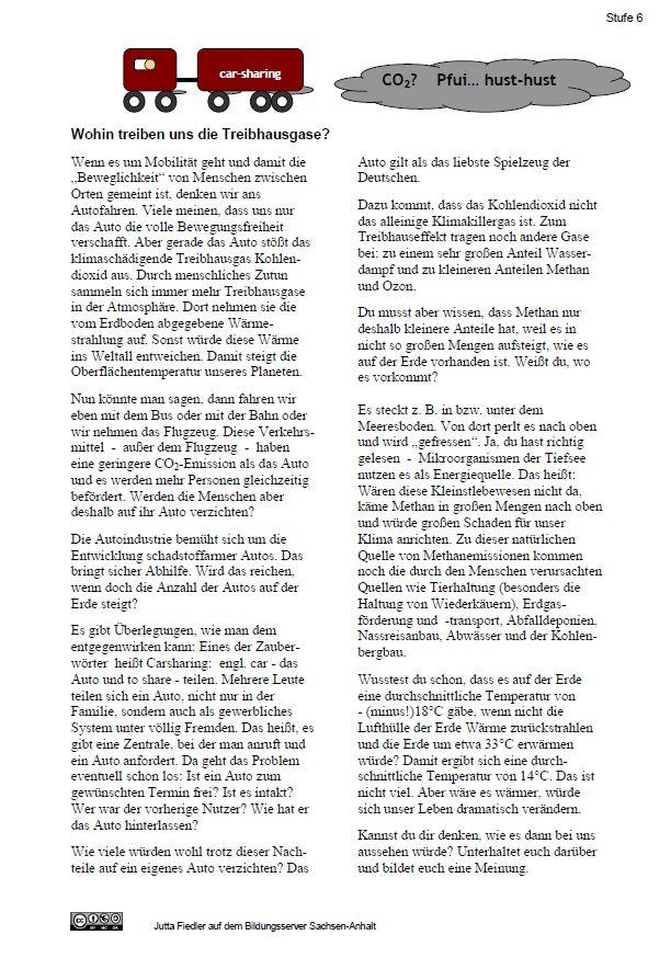 Bildungsserver Sachsen-Anhalt - Übungen und Lösungen