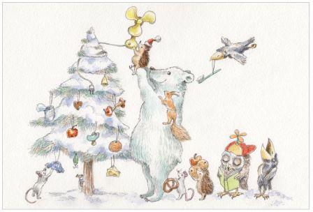 Sprachspiel Ich Schmücke Meinen Weihnachtsbaum Und Hänge Dran
